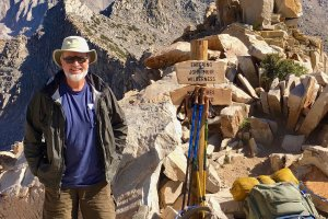 Dave Crough on the John Muir Trail