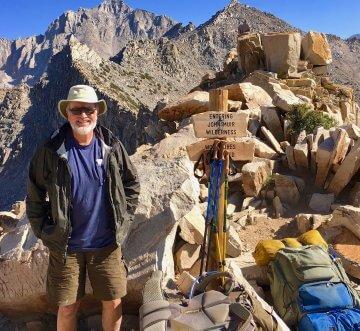Dave Crough on the John Muir Trail